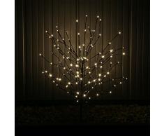 LED Lichterzweig Lichter Zweig Ast Bäumchen Baum Ästchen Strauch mit Erdspieß LEDLZ144 Deko