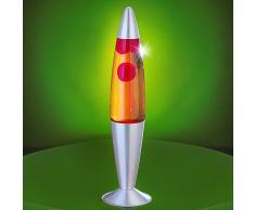 MIA Light Lava ↥420mm/ Kinder/Retro/Gelb/Rot/Lampe Lavalampe Lavaleuchte Magmalampe Magmaleuchte
