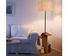 Standleuchten Landhausstil, Kreative Wohnzimmer Schlafzimmer Couchtisch Lampe Leselampe, Moderne Studie Stehleuchte Nachttischlampe