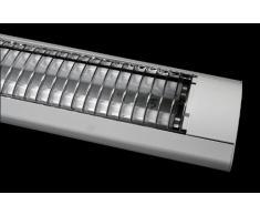 SONDERANGEBOT! Lampenlux Rasterleuchte Rasterlampe 2x36W Deckenleuchte Bürolampe Deckenlampe Büroleuchte Lampe