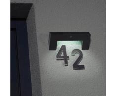 Brennenstuhl Solar Wand-Hausnummern-Leuchte SOL HL 08007