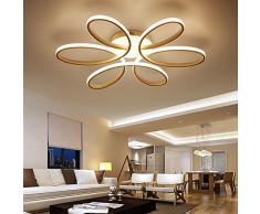 Fantastisch Henley LED Deckenleuchte Modern 75W LED Lampen 6 Ring Deckenbeleuchtung  Deckenstrahler Wohnzimmer Schlafzimmer Kreativ Lampe