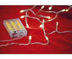 LED-Minilichterkette mit 20 Birnchen 1,45 m