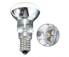 SIWEI Ersatz Lava Lampe E14 Sockel LED Form Glühbirne Warmweiß Reflektor 30W Scheinwerfer Schraube in Glühbirne nicht dimmbar