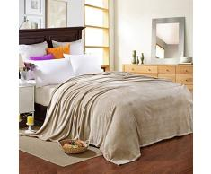 Decke Deckenbögen vier Jahreszeiten Universaldecke Single Double Flannel warme Decke, orange_1.5 * 2.0M