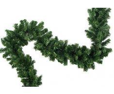 XL künstliche Tannengirlande Weihnachtsgirlande Girlande Tanne Grün Deko Weihnachten ca 200 cm