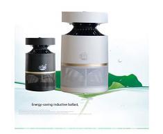 Indoor Bug Zapper, USB-Lampe, chemikalienfreier UV-LED-Licht-Fotokatalysator, Insektenverteiler mit Saugventilator für Innen- / Außen- / Wohnbereiche-black