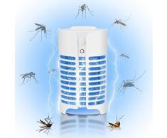 LCLrute Anti-Moskitonetzlampe, Elektrisch, mit Fliegenpilz, für Wohnbereiche