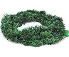 Deko-Girlande, Tannengrün, Weihnachtsgirlande, Tannengirlande, 270 cm x 10 cm