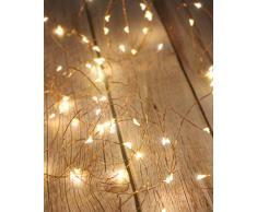 Lichterkette Batterie, Litogo Lichterketten für Zimmer 5m 50er Micro LED Lichterkette Draht Mini Fairy Lights Wasserdicht Feenlichter Innen Deko für Weihnachten Halloween Party Hochzeit (Warmweiß)