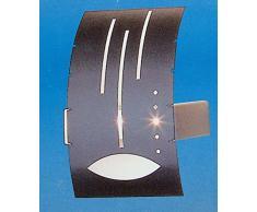 Pandora Stars and Stripes - Wandlampe - Wandfluter - Dekovorsatz (weiß) -150 Watt / 230V
