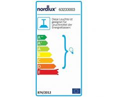 Nordlux Pendelleuchte RAY, 2-flammig, 2x E14, IP20, schwarz EEK: A++ - D