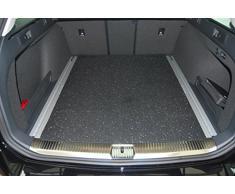 aruma® Antirutschmatte Kofferraummatte für Volkswagen Passat Variant B8 mit Schienensystem ab Baujahr 11/2014