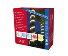 Konstsmide 3044-100 LED Lichterschlauch 6m/für Außen (IP44)/230V Außen/72 warm weiße Dioden/transparenter Schlauch
