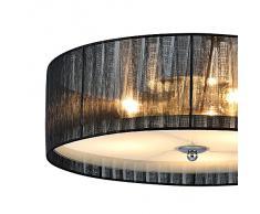 [lux.pro] Lüster Deckenleuchte - Helena - Deckenlampe (3 x E27 Sockel)(12 cm x Ø 40 cm) Zimmerlampe Wohnzimmerlampe