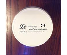RGB+WW LED Lampe 7 Watt original LIGHTEU®, milight,WLAN (WIFI),dimmbar,RGB Farbwechsel,3 phasen strahler für Schienensystem Schienen Strahler Schienen Leuchte/auch via Extra Fernbedienung oder Extra Wlan Controller ansteuerbar