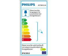 PHILIPS Ecomoods Energiespar- Pendelleuchte mit 20W, inklusive Leuchtmittel, 2-flammig 407683116