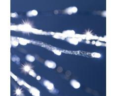 XMASKING Silberner Twigball Ø 45 cm, 160 LEDs kaltweiß, Blitzlicht-Effekt, Weihnachtsdeko, Weihnachtsstern, Weihnachtsbeleuchtung, Lichterball