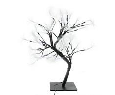 Unbekannt Noor Handels GmbH Lichtbaum 48 Leds stehend Spritzwassergeschützt Dekoration kaltweißes Licht 43 cm x 45 cm x 33 cm
