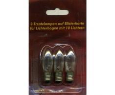 Ersatzlampen 3er 24V/2,5W E10 für 10er Lichterbogen innen XI11958