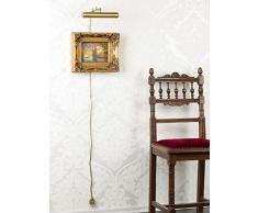 Bilderlampe 22cm Gemälde Lampe Bildleuchte Bilderleuchte Antik-Stil Wandlampe