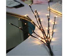 LED Lichterzweige Lichter hängend 144 LEDs Weihnachtsdeko Außenbeleuchtung Deko