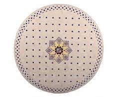 albena Marokko Galerie 15-157 Jebon Marokkanischer Mosaiktisch ø 120cm rund (Jebon: natur/bunt)