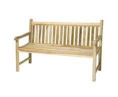 Ploß Outdoor furniture Coventry Landhausbank, Eco Teak Natur, 180 x 64 x 90 cm