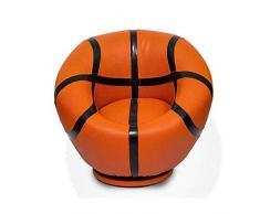 DIAOD Kinder Sofa, bequemes Sofa Kinder Reader Ball Chair Kind-Kleinkind Sofa basketaball (Color : Style one)