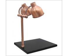 TANERDD Food Warmer Lights Früher Kommerzielles Buffet Doppelkopf-Lebensmittelwärmekonservierung Lampe Schneidetisch, Explosionsgeschütztes Infrarot Die Glühbirne für Buffet und Pizza