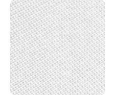 Beautissu Victoria Stretchhusse Biertischhusse 220x50 cm + 2 Bierbank-Hussen 3 TLG Bierzeltgarnitur-Set - Weiß & weitere Farben