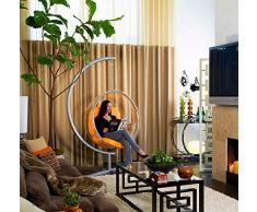 SMGPYHWYP Transparente Bubble Chair, Glaskugel Hängesessel, Hemisphere Acryl Hängekorb, Swing Hanging Ball Space Chair