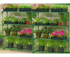 Gardman Garden Pflanzenregal, Doppelpack