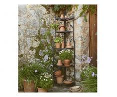 Florabest® Garten Eckregal Pflanzentreppe Blumenregal Pflanztreppe