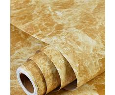 ZTKBG Marmorkontakttapete Abnehmbare Folie Selbstklebender Granit Küchenbar Deckenwand Rückwand Fliesen Arbeitsplatte Regalverkleidung (Color : C, Size : 23.6in*196.8in)