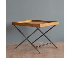 Schreibtische Rattan Tisch Sofa Side/Kaffee/Snack/Lagerung Trolly Narrow Tabelle for Haus, Wohnzimmer, Büro