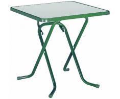 BEST 26527030 Scherenklapptisch Primo eckig 67 x 67 cm, grün