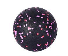 PPangUDing Gymnastikball Sitzball Pilates Ball Multifunktionales Anti-Burst Explosionsgeschützter Pilates Ball mit Pumpe Yoga Ball Balance Stuhl für Yoga Exercise Fitness Physiotherapie (Rosa)