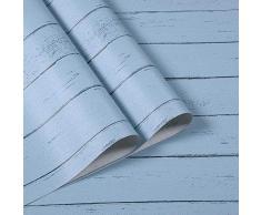 Chingde Holztapete Selbstklebend, 45X1000CM Tapeten Aufkleber Tapeten Wasserfest Möbel Aufkleber Tapete Holzoptik Wandtapete Holz für Wandtisch Küche Bad Deko, (A)