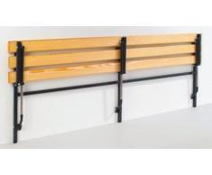 Sypro Wandbank - klappbar, feste Länge 1200 mm - mit Holzauflage - Bank Bank aus Holz Metall Kunststoff Bänke Bänke aus Holz Metall Kunststoff Garderobenbank Garderobenbänke Holzbank Holzbänke Mehrzweckbank Mehrzweckbänke