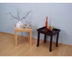 moebel direkt online Beistelltisch _ Massivholztisch _ Tisch mit abnehmbarem Tablett