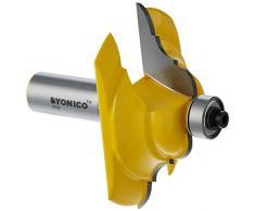 yonico 13133 Tisch Edge Router Bit mit französischen Barock 1/2 Schaft