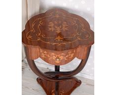 Coffeetable Teetisch Barock Intarsien Tisch Beistelltisch Konsole