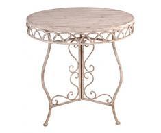 Esschert AM52 design, Tisch im Antik-Design, 76 x 76 x 58 cm