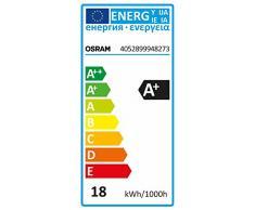 OSRAM LED Deckenleuchte Ring 18W / extrem flache Wandlampe / Höhe 29mm / Ø 28cm / 1200 Lumen / 2700K - warmweiß