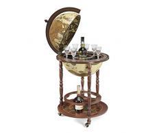 Globe Bar Elfenbein *hergestellt in Italien* mit Echtheitszertifikat (ivory)