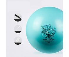 DHR-Gymnastikbälle Schweizer Ball Yoga Ball Chair (55cm, 65cm 75cm) - Gymnastikball & Stabilität Ring for Gleichgewicht, Pilates oder Entbindungs Therapie (Farbe : Blau, Größe : Diameter 55cm)