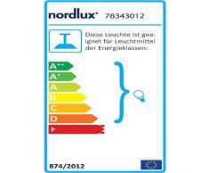 Nordlux 78343012 Pendelleuchte, Holz, E27, 32 cm, beige