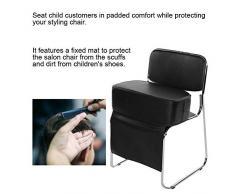 CANDYANA Frisierstuhl PU-Leder Barber Booster-Kissen für Kinder Kissen Stuhl Sitzzusatzstühle Hilfs Aufstockung Sitze Kissen