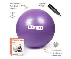 Joyletics® Gymnastikball »S« | Sitzball und Fitnessball für ein entlastendes Sitzen und vielfältiges Ganzkörpertraining | Gymnastik-Ball Durchmesser 65 cm, lila